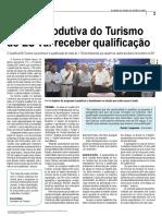 Cadeia produtiva do Turismo do ES vai receber qualificação
