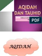 AQIDAH DAN TAUHID