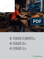 Cubase Elements 10 Operation Manual En