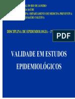 Validade Em Estudos Epidemiologicos