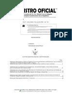 Manual Del Organigrama Estructural y Funcional Cantón Macará
