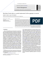 waste glass as a partial replacement for fine aggregate.pdf