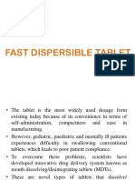 Fast Dispersible Tablet-1