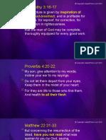 Bible Study Slides