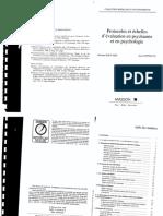 Cottraux Et Bouvard - Methodes Et Echelles d'Evaluation Des Comportaments