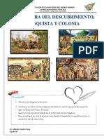 Spanish 9º 2do Periodo LITERATURA DEL DESCUBRIMIENTO, CONQUISTA Y COLONIA