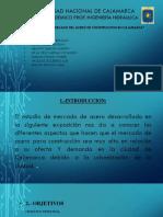 Estudio de mercado del acero en Cajamarca