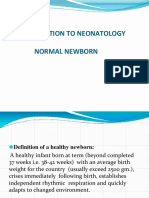 introduction to neonatology