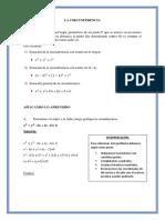 Algebra Resumen