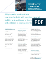 Globaltherm Omnipure Product Information Sheet