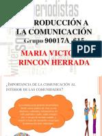 Introduccion a La Comunicacion