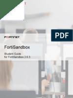 Fortisandbox Student Guide Online