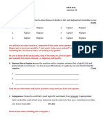 French adjective Study Guide