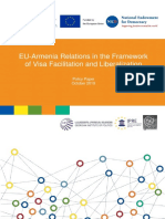 EU-Armenia Relations in the Framework of Visa Facilitation and Liberalization