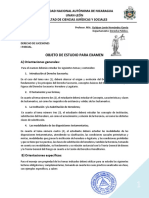 Guía Objeto de Estudio Examen I PARCIAL