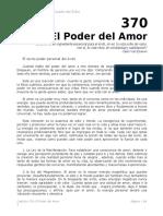 Autoestima Cap 370 El Poder Del Amor