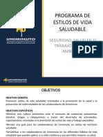 Presentacion Programa Estilos de Vida Saludables y SBC