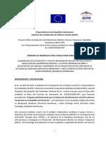 Vicepresidencia de la República Dominicana Gabinete de Coordinación de Políticas Sociales (GCPS)