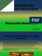Explotación de Recursos Naturales