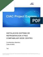 Sistema 1-Ciac-Instalacion Sistema de Refrigeracion