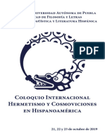 Programa Hermetismo 2019-1