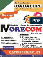 Bases Orecom 2019