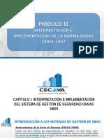 Capitulo i - Interpretación e Implementación de La Norma Ohsas 180012007