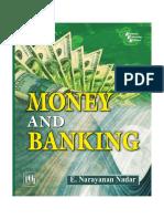 Money and Banking - Nadar, e. Narayanan