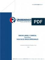 Derecho Laboral Comercial 2016
