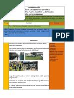 Programa Uesme 2019 2020 Dia Internacional Para La Reduccion de Los Desastres