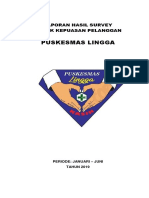 Laporan Kotak Kepuasa Januari-Juni 2019 Puskesmas Lingga