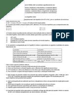questionario bioquimica