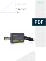 Anritsu USB Power Sensor MA24106A Brochure and Technical Data Sheet