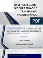 Radiossensibilidade, Radiocurabilidade e Tratamento