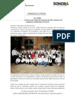 145-10-19 Se consolida Radio Sonora como medio de comunicación útil y cercano a los ciudadanos