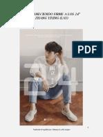 Yixing [Libro] Permaneciendo Firme a Los 24
