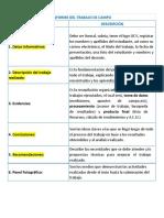 Contenido de Informe y Rubrica de Evaluación (1)