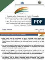 Encuesta Sobre Condiciones de Vida en Venezuela Encovi