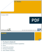 SAP Business Objects Mobile Customer Presentation