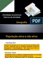 Geografia-Actividades economicas