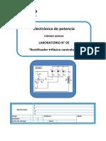 Lab05 - Rectificador Trifasico Controlado