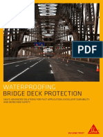 Bridge deck protection