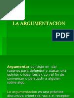 Presentación La Argumentación