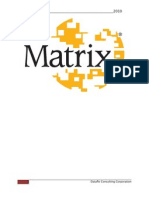 Matrix Implementation