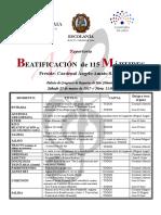 2017-03-25 - Beatificación de 115 mártires en Almería