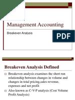 05 Breakeven Analysis