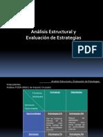 Analisis Estructural y Evaluacion de Estrategias