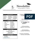 peserve oct newsletter