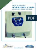 Manual Ultrasonex 2017