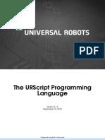 UR Script manual